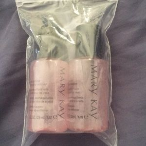 Mary Kay makeup remover samples